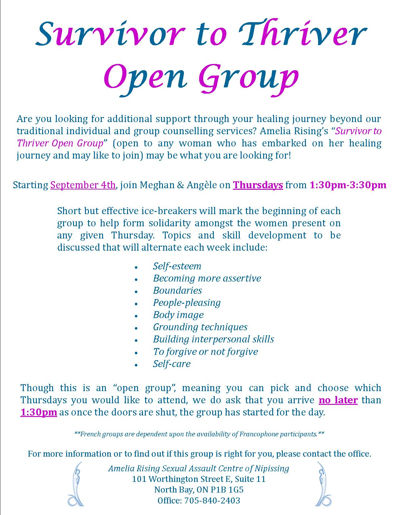 journey of life open group amelia rising click to enlarge